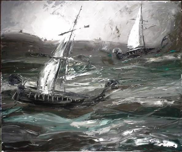 Stratení v búrke roku 1468 (Lost in a storm in 1468)
