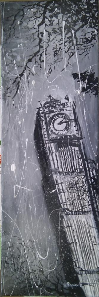 Londýnsky Big Ben ( London Big Ben )
