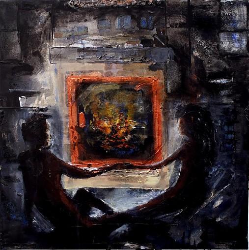 Pri krbe ( The Fireplace )