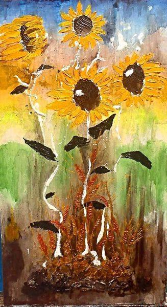 Slnečnice ( Sunflower )