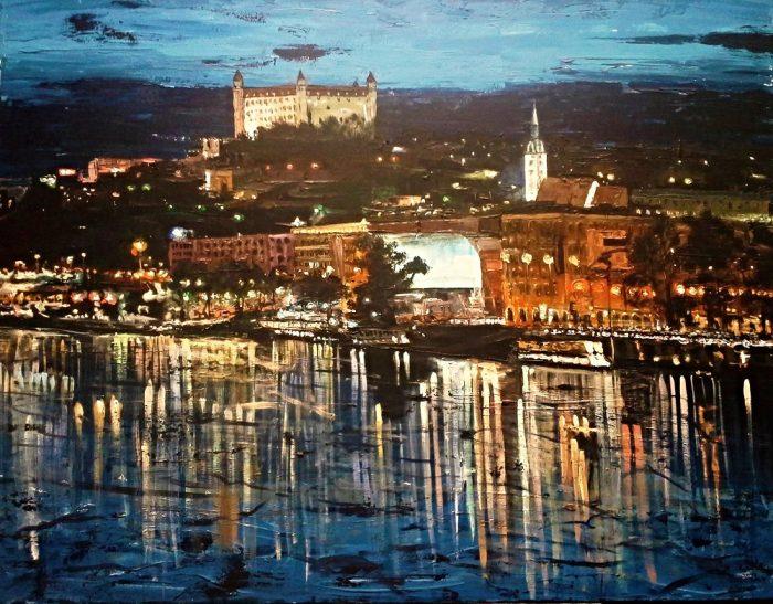 Na svetlách nábrežia Dunaja ( Lights on the river Danube )