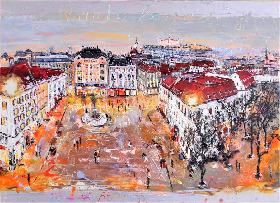 Námestie Bratislava ( Square of Bratislava )