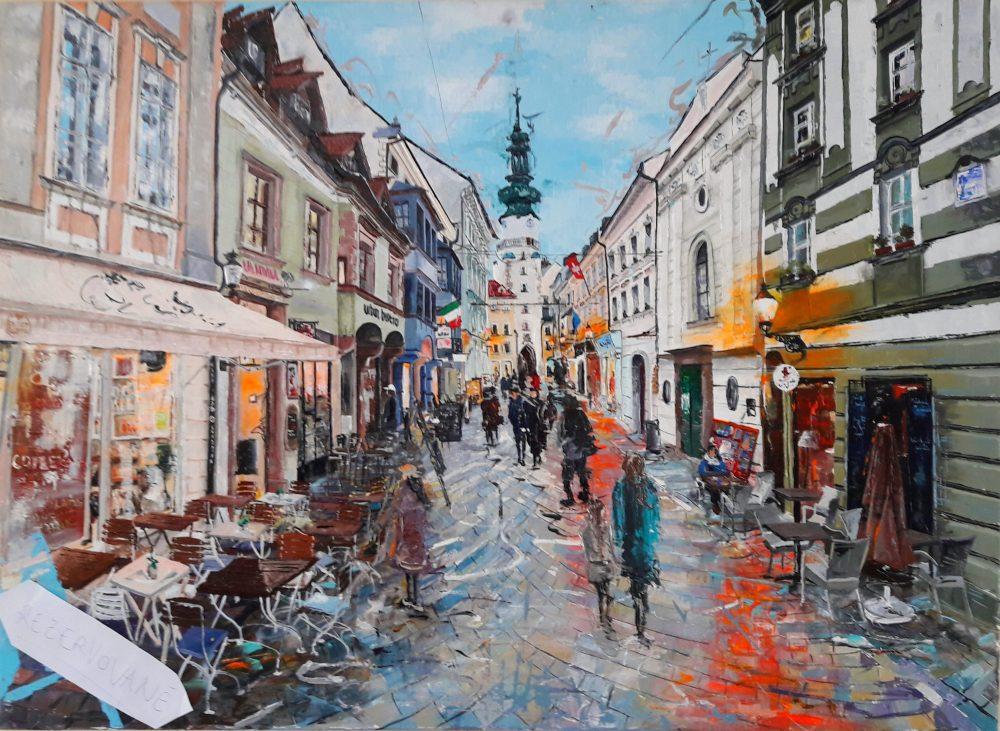 Michalská promenáda ( The Michael promenade )