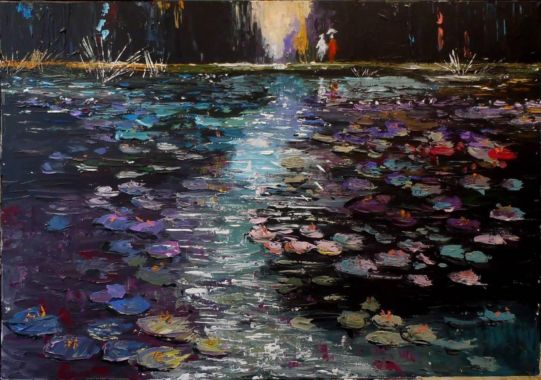 Evening Waterlilies
