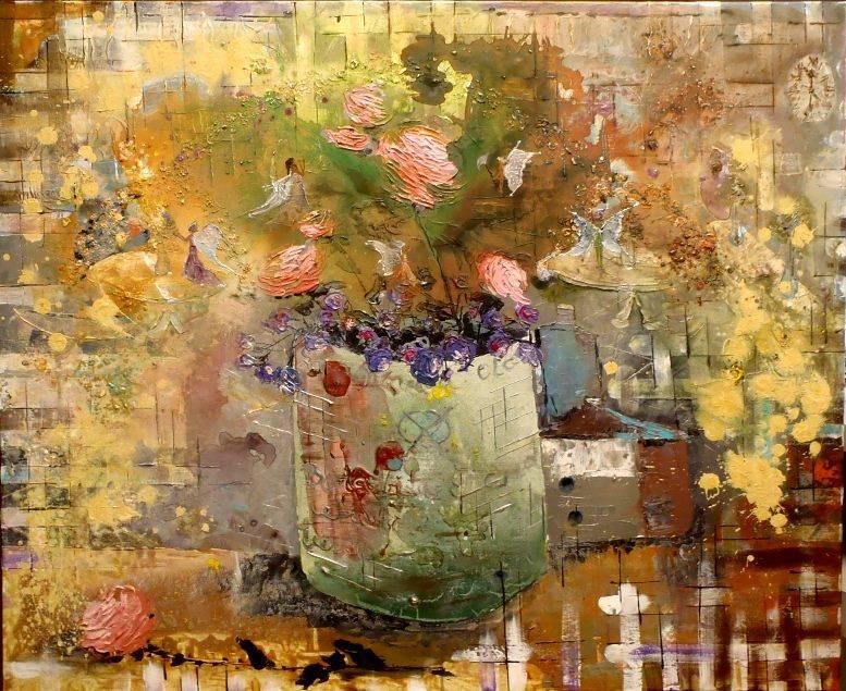 Fairies in Flowers