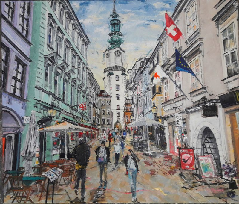 Everyone knows where in Bratislava